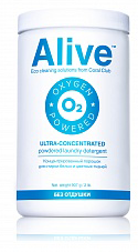 Alive concentrated laundry detergent for whites and colors